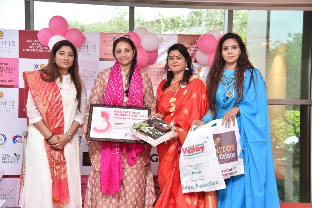 Award for Outstanding Achievement in Real Life on Women's Day